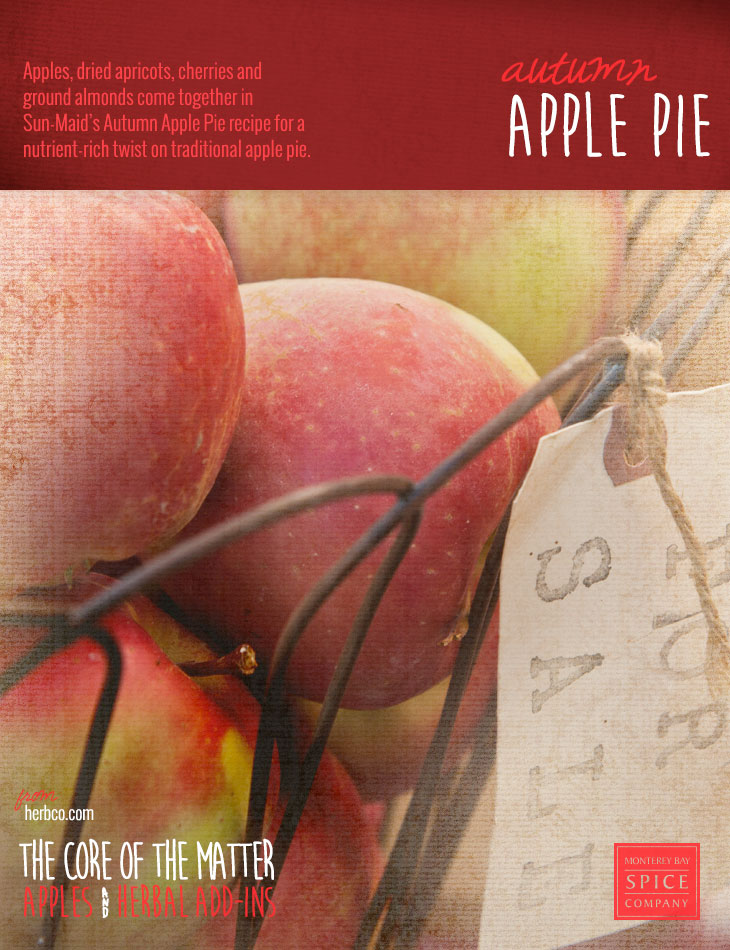 [ Recipe: Autumn Apple Pie ] ~ from Monterey Bay Spice Co
