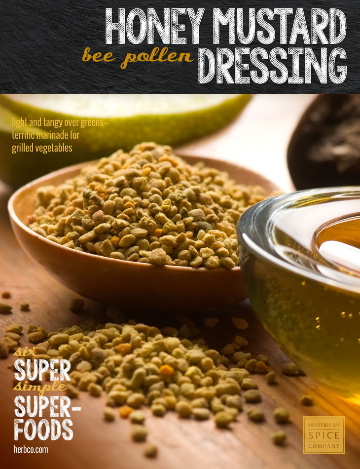 [ Recipe: Honey Mustard Dressing ] ~ from Monterey Bay Spice Co