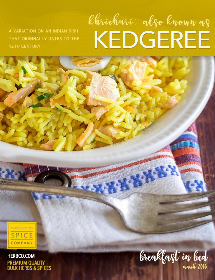 [ Recipe: Kedgeree (also known as khichuri) ] ~ from Monterey Bay Spice Co