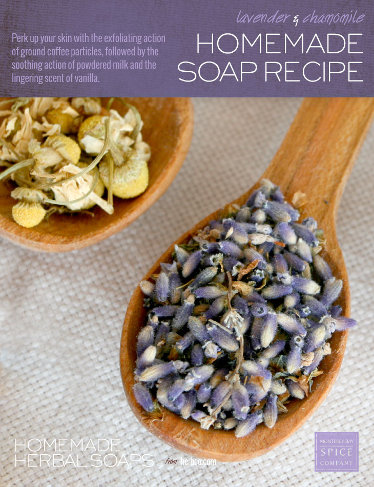[ DIY: Lavender and Chamomile Soap - Melt and Pour Method ] ~ from Monterey Bay Spice Co