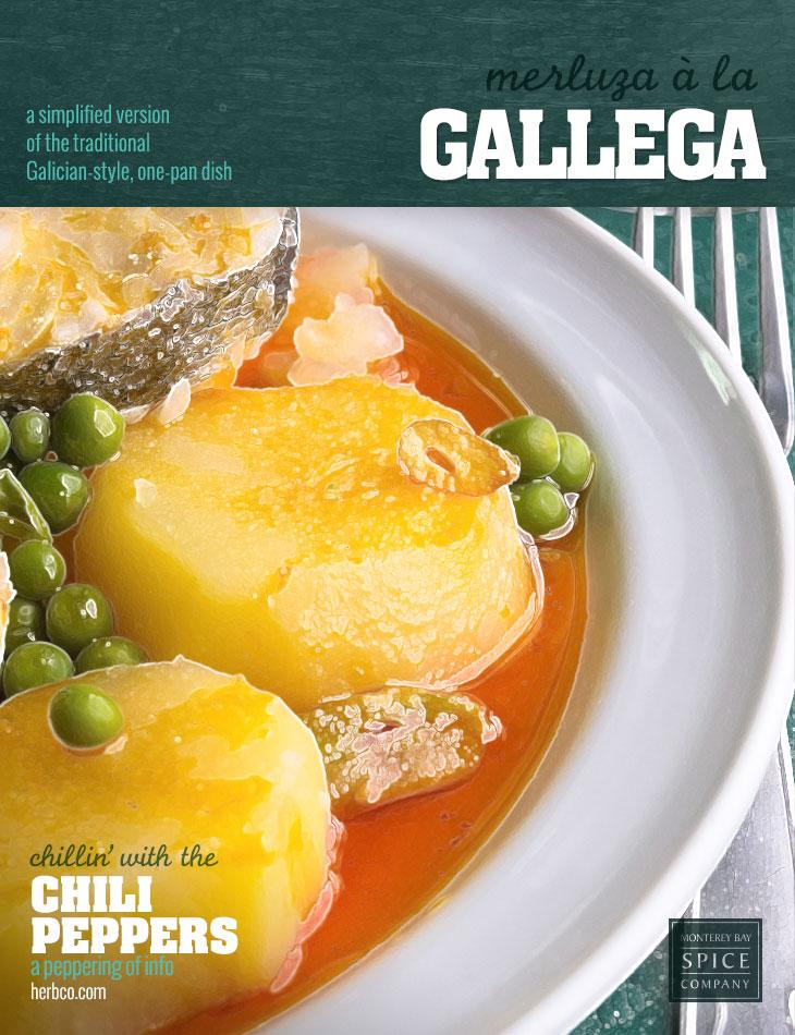 [ Recipe: Merluza à la Gallega ] ~ from Monterey Bay Spice Co