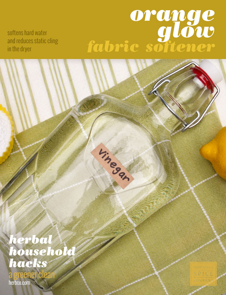 [ DIY Recipe: Orange Glow Fabric Softener ] ~ from Monterey Bay Spice Co