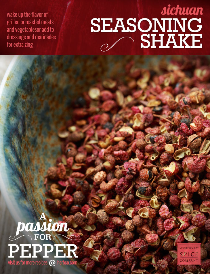 [ Recipe: Sichuan Seasoning Shake ] ~ from Monterey Bay Spice Co