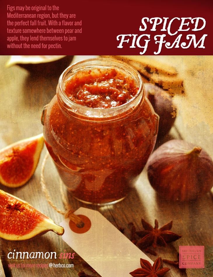 [ Recipe: Spiced Fig Jam ] ~ from Monterey Bay Spice Co