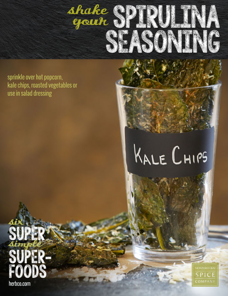 [ Recipe: Spirulina Seasoning Blend ] ~ from Monterey Bay Spice Co