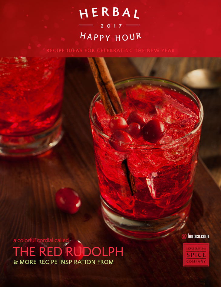 [ Recipe: Red Rudolph ] ~ from Monterey Bay Spice Co