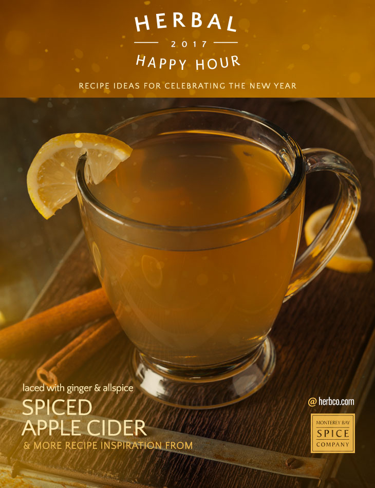 [ Recipe: Spiced Apple Cider ] ~ from Monterey Bay Spice Co