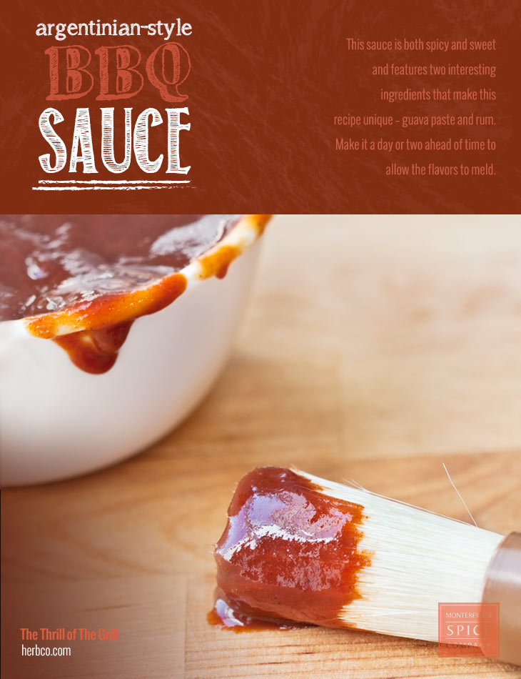 argentinian style bbq sauce this sauce is both spicy and sweet and ...