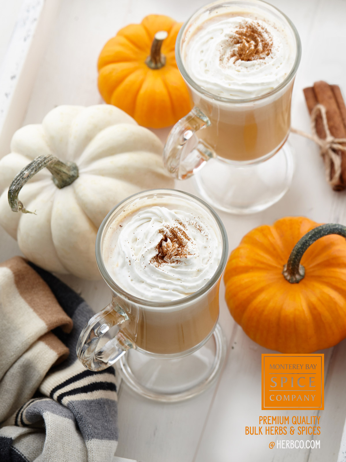 [ Recipe: Pumpkin  Spiced Latte ] ~ from Monterey Bay Spice Co