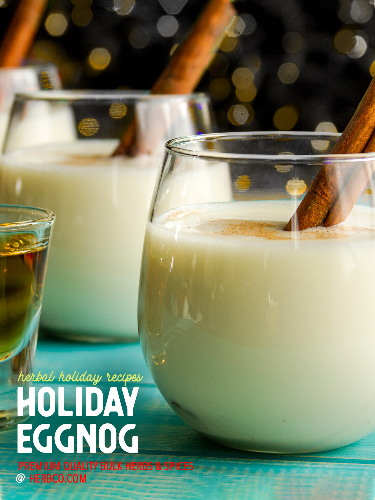 [ Recipe: Holiday Eggnog ] ~ from Monterey Bay Spice Co
