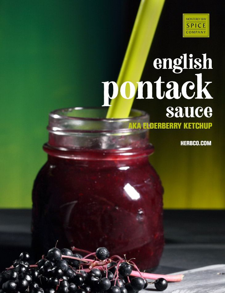 [ Recipe: English Pontack Sauce ] ~ from Monterey Bay Spice Co