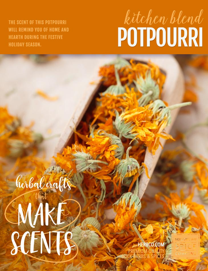 [ Recipe: Kitchen Blend Potpourri Recipe ] ~ from Monterey Bay Spice Co