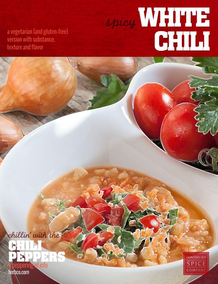 [ Recipe: Spicy White Chili ] ~ from Monterey Bay Spice Co