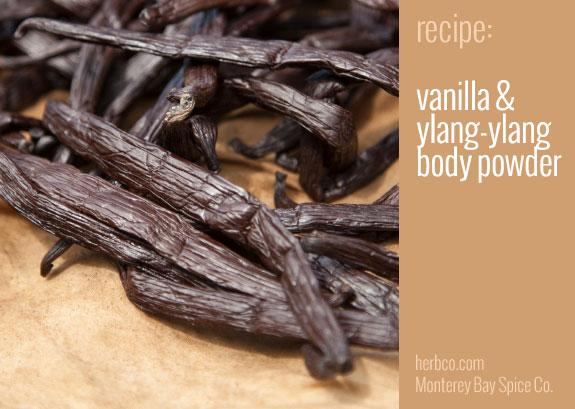 Recipe Vanilla And Ylang Ylang Body Powder From Mb