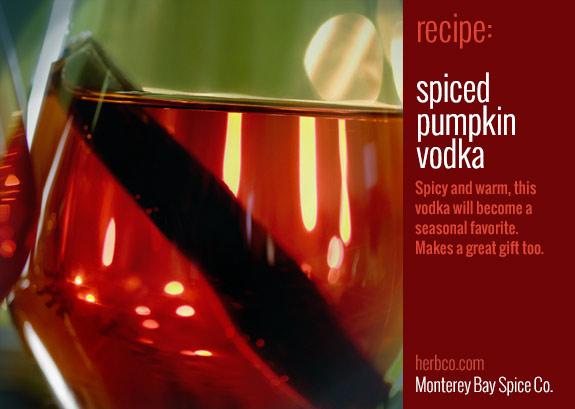 Spiced Pumpkin Vodka Recipe